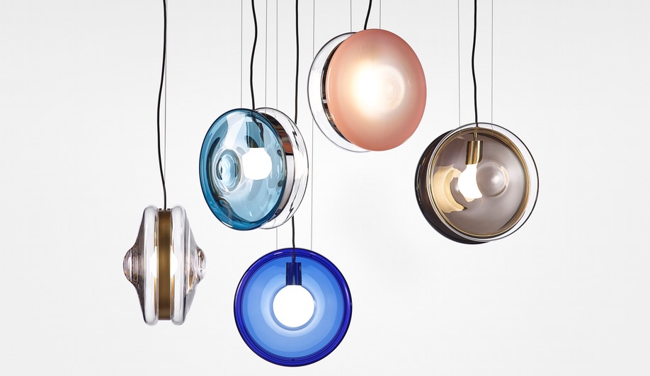 Pendant lamps launched at Light + Building 2018: Orbital by Bomma