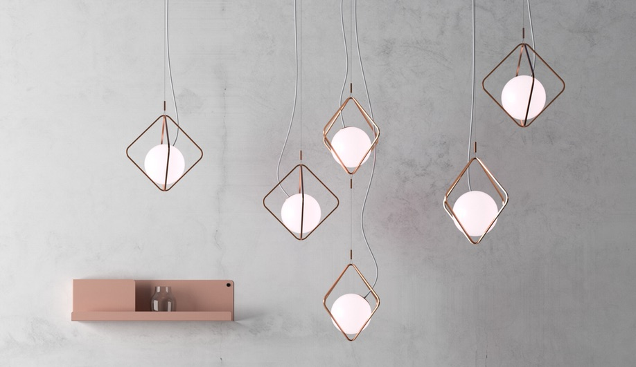 Pendant lamps launched at Light + Building 2018: Jack O'Lantern by Brokis
