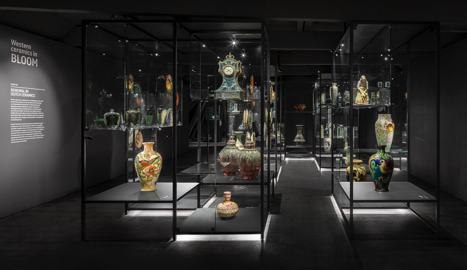 i29 used colour and contrast to update a Dutch ceramics museum.