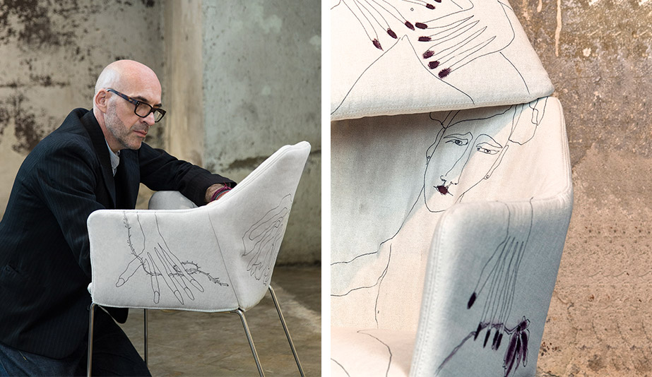 Milan Design Week 2018 Furniture Launches: Distance and Affinity by Antonio Marras for Saba