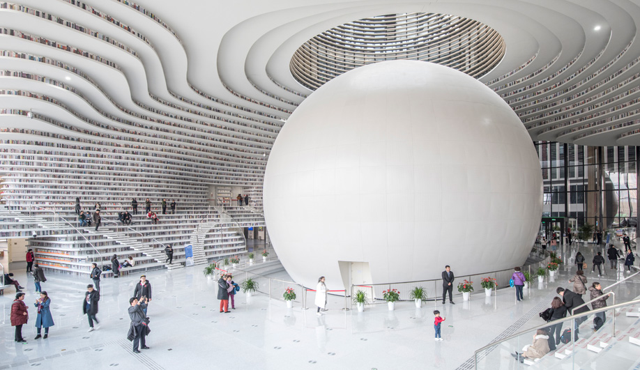 How Winy Maas Designed Tianjin Binhai Library, a Monument to Knowledge