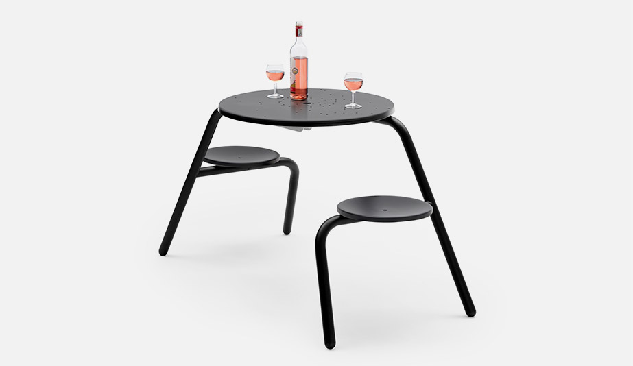 Virus Picnic Table by Extremis