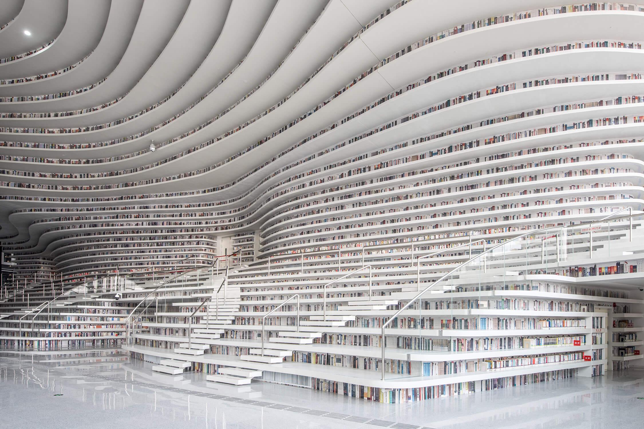 How MVRDV's Winy Maas Designed the Tianjin Binhai Library   Azure
