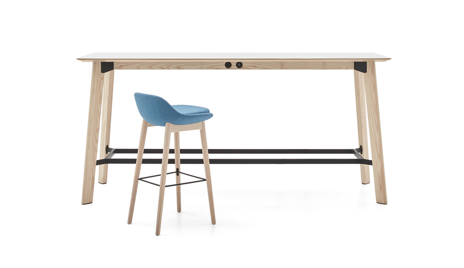 Awla Standing Table by Keilhauer