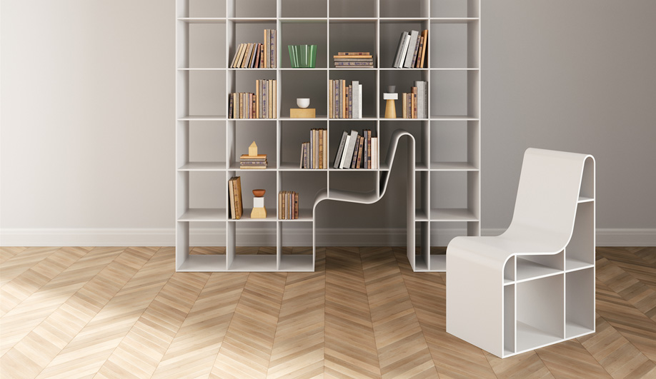 Bookchair Bookcase by Alias