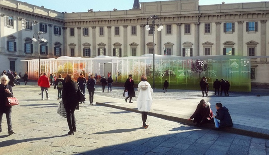 Off-site events at Milan Design Week 2018: Living Nature by Carlo Ratti Associatti