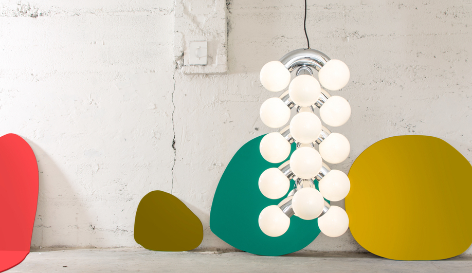 Milan Design Week 2018 Furniture Launches: Array, Orbit and Vine light fixtures by ANDlight