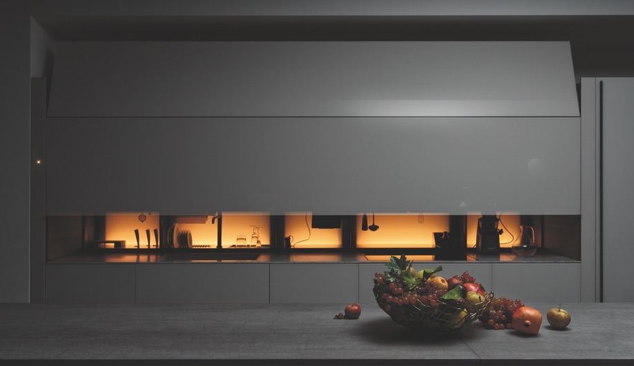 Eurocucina 2018 kitchen launches: Logica Celata by Valcucine