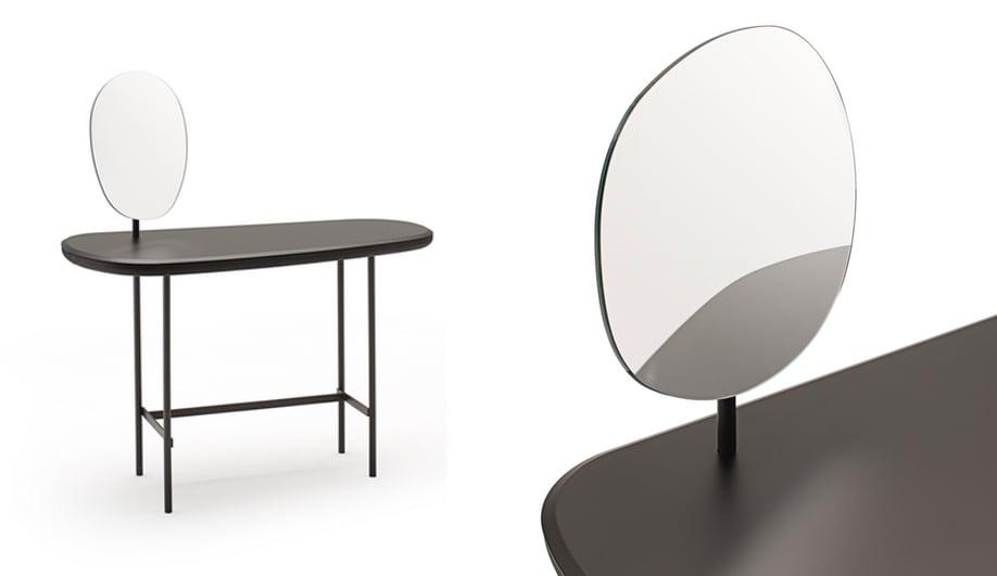 Living Divani at Milan Design Week 2018: The Pebble Desk / Vanity byStudio Lanzavecchia + Wai