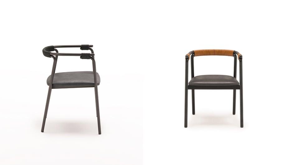 Living Divani at Milan Design Week 2018: Rivulet Chair by Junpei & Iori Tamaki