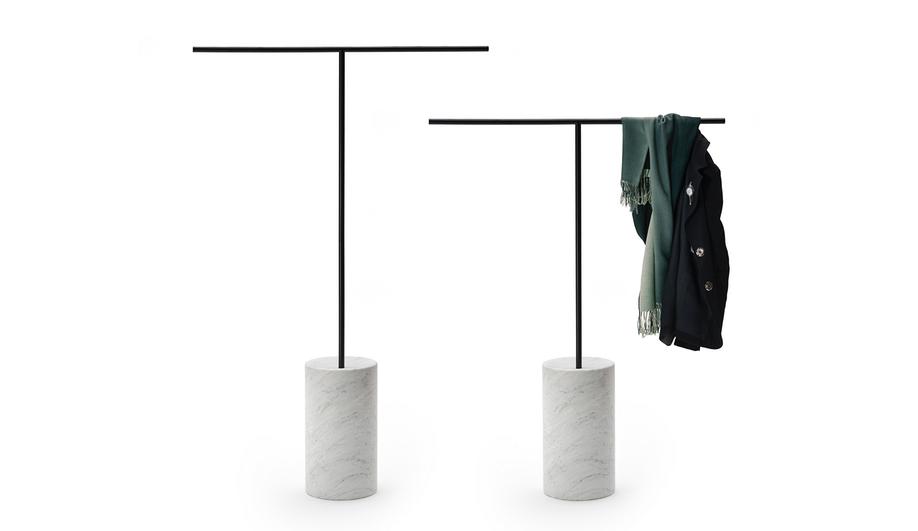 Living Divani at Milan Design Week 2018: Tonbo Coat Hanger by Junpei & Iori Tamaki