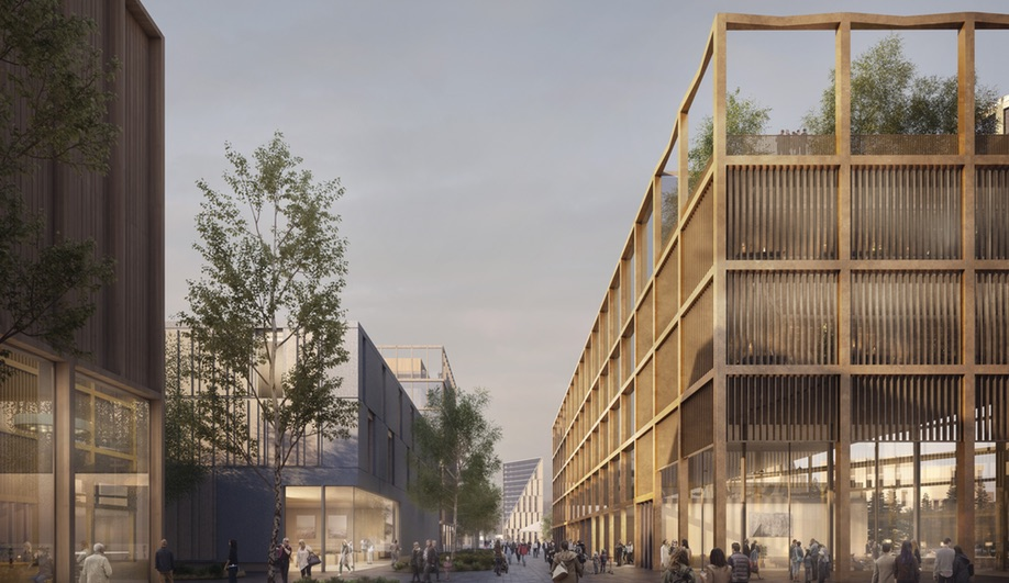 Oslo Airport City is a mixed-use development proposal around the Oslo International Airport.