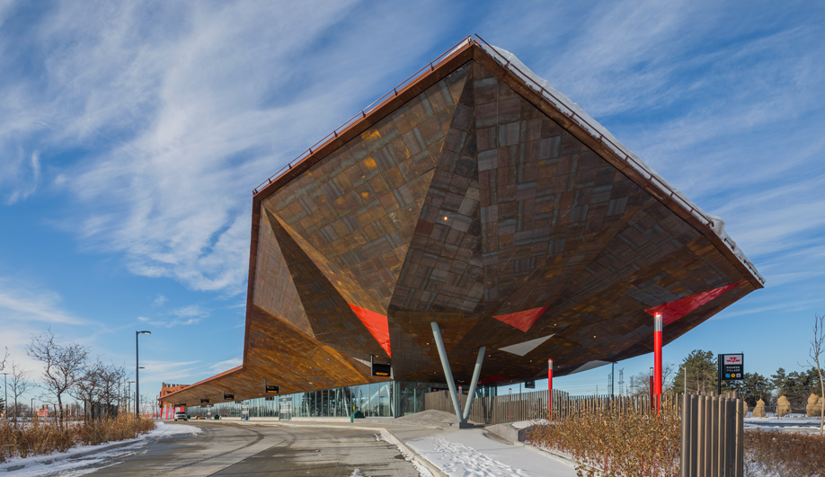Will Alsop's Pioneer Village Station, Toronto
