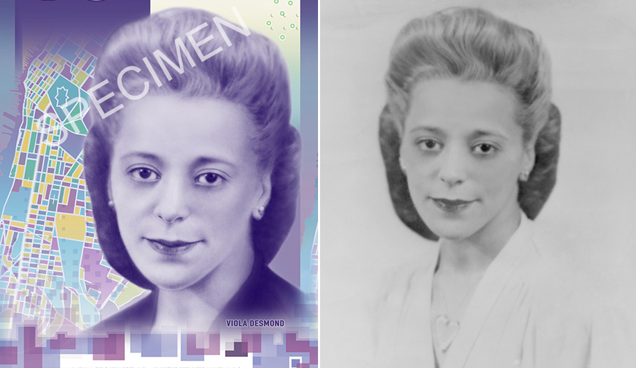 Canadian money design: Canada's new $10 features a portrait of Viola Desmond.