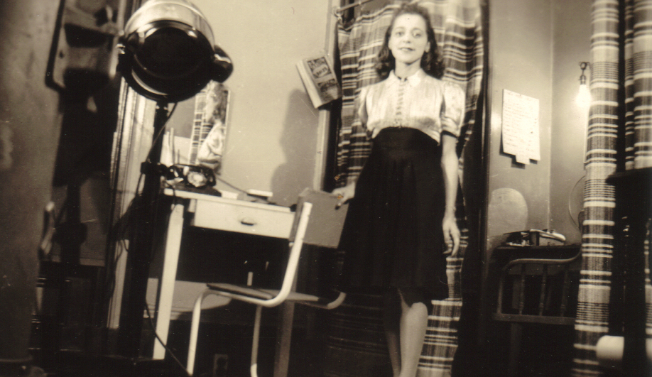 Canadian money design: Viola Desmond in her studio, circa 1938.