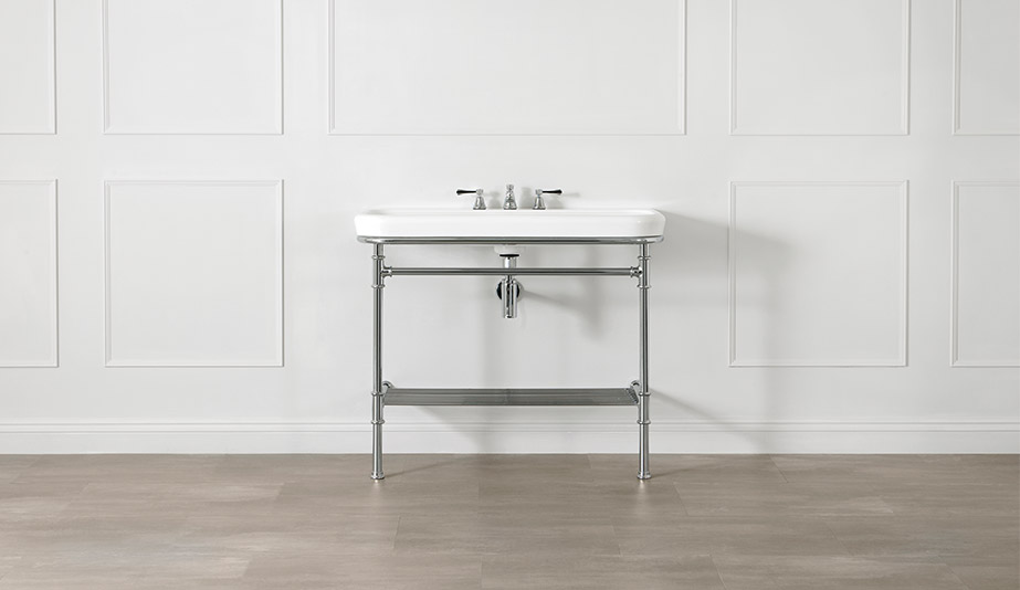 Metallo 100 Washstand by Victoria + Albert