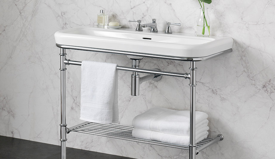 Metallo 100 Washstand by Victoria + Albert