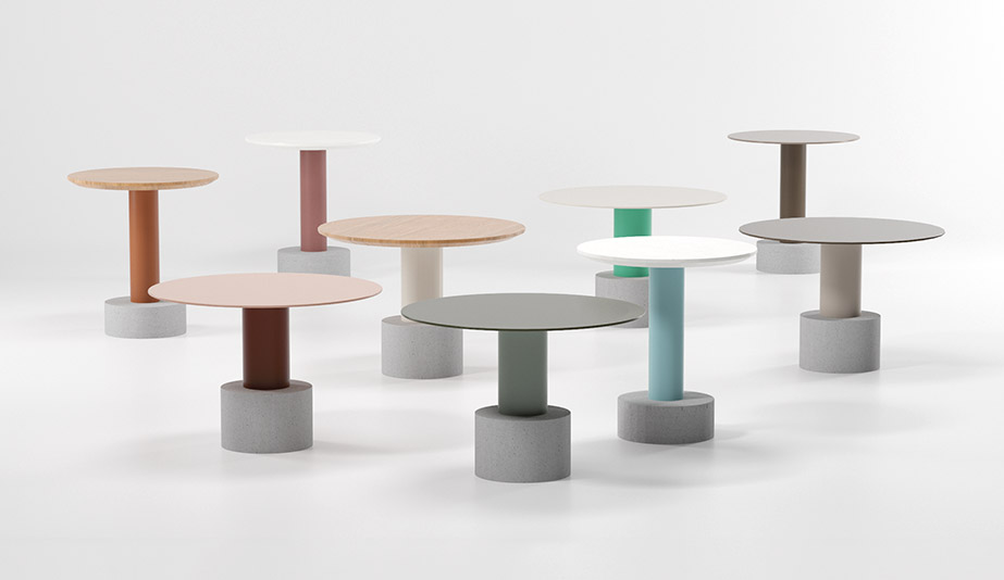 Roll Tables by Kettal