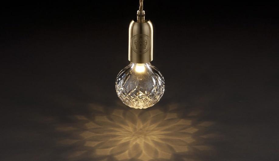 Designer Lee Broom's Crystal Bulb