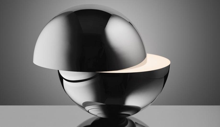 Designer Lee Broom's Tidal table lamp