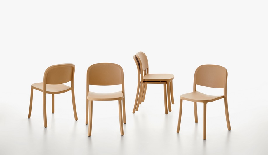 NeoCon 2018 Product Launches: 1 Inch Reclaimed by Emeco