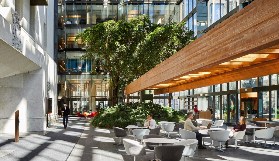 Bank of Canada renewal: Perkins+Will's Andrew Frontini sealed off Erickson's original atrium – but reimagined it as a community hub.