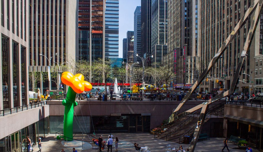 Grown Up Flowers Brings Giant Inflatable Blossoms to New York