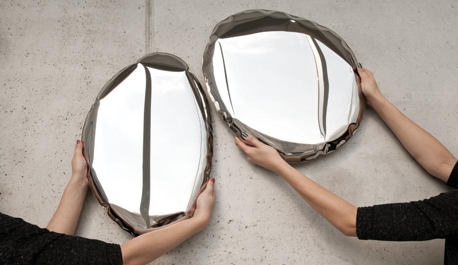 Contemporary Polish design culture: Oscar Zieta's Tafla mirrors