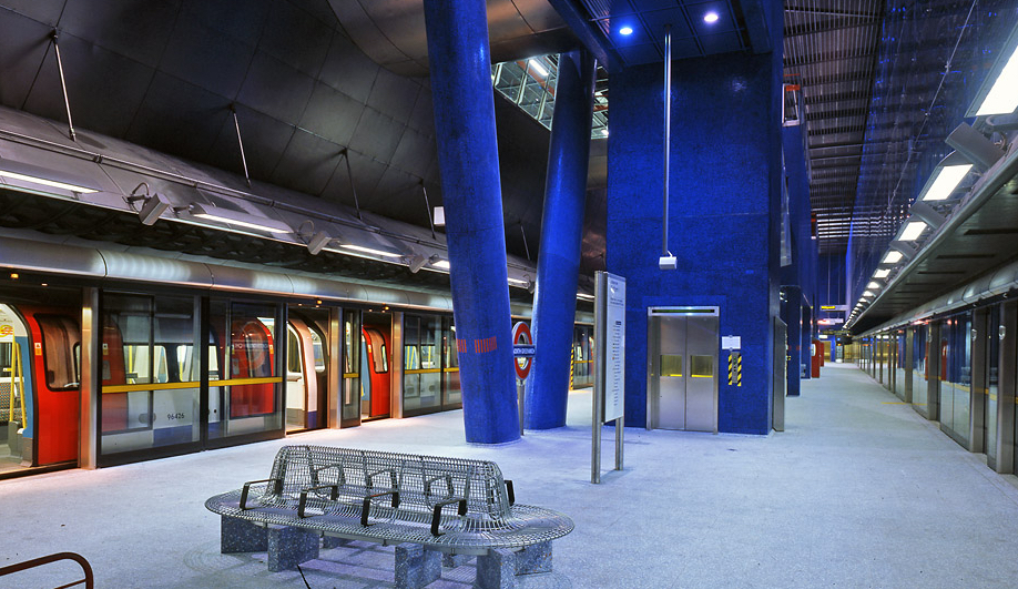 Will Alsop's North Greenwich Tube Station, London