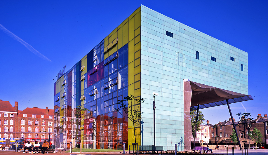Will Alsop's Peckham Library, London