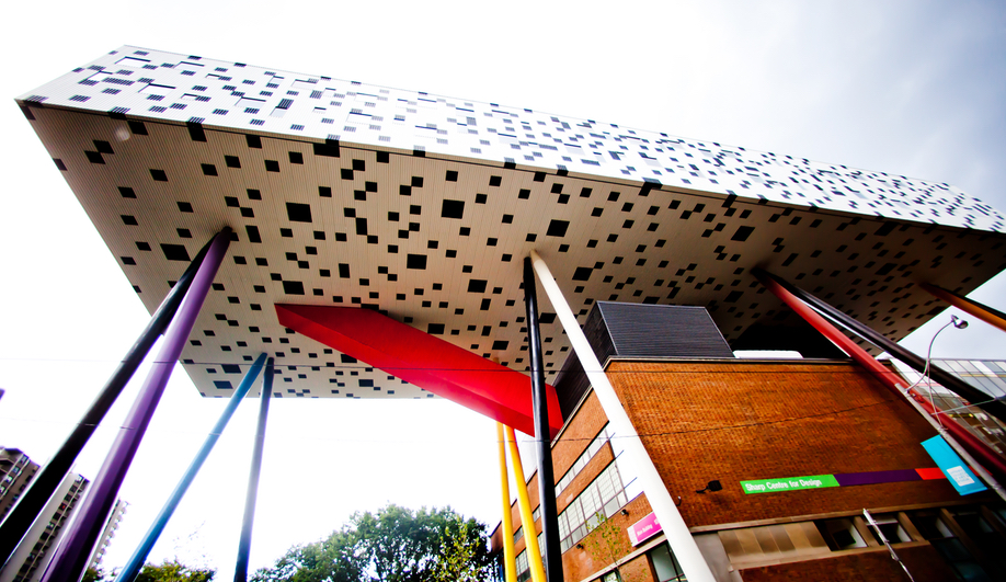 Will Alsop's Sharp Centre for Design, OCAD University, Toronto