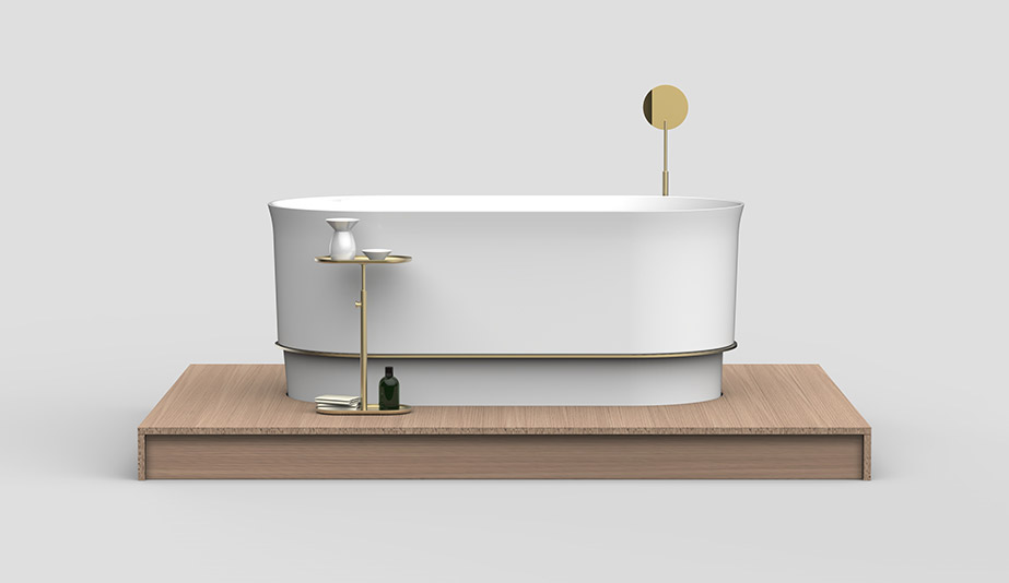 Neri&Hu Design and Research Office's Immersion Bathtub and Casali's Cocoon Lounge are the winners of the 2018 AZ Awards of Merit: Design Architectural/Interior Products: Immersion Bathtub