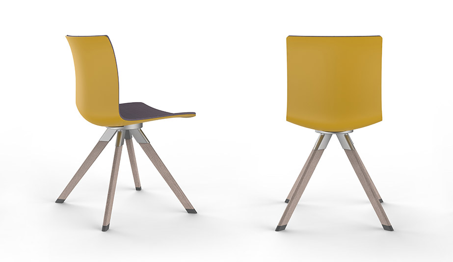 Zinc Chair by Allseating