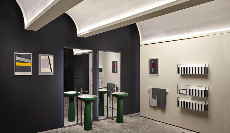 New Design Showrooms: Antoniolupi, Milan