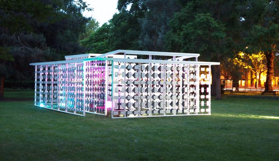 Summer Pavilions: Triumph Pavilion, London - on until July 2