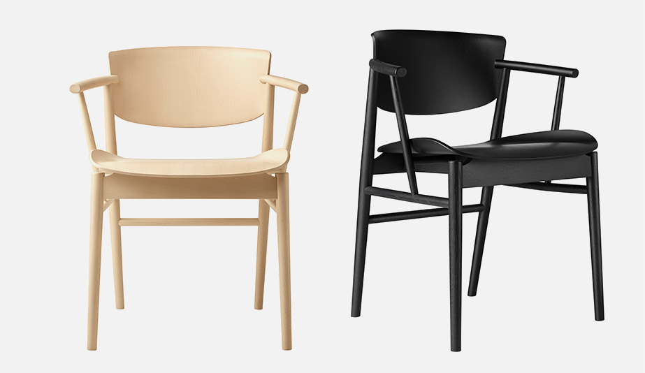 N01 Dining Chair by Fritz Hansen