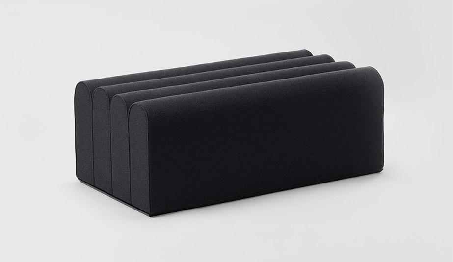 Arkad Pouffe by Zilio A&C