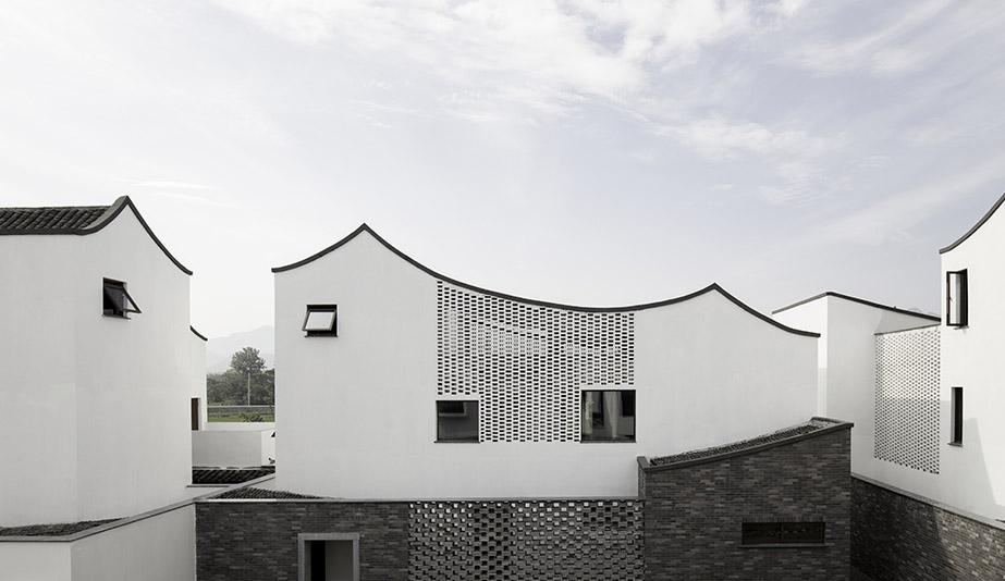 Contemporary Rural Cluster: Dongziguan Affordable Housing by gad·Line and Studio MK27 are the recipients of the 2018 AZ Awards of Merit: Architecture Residential Multi-unit: Contemporary Rural Cluster: Dongziguan Affordable Housing