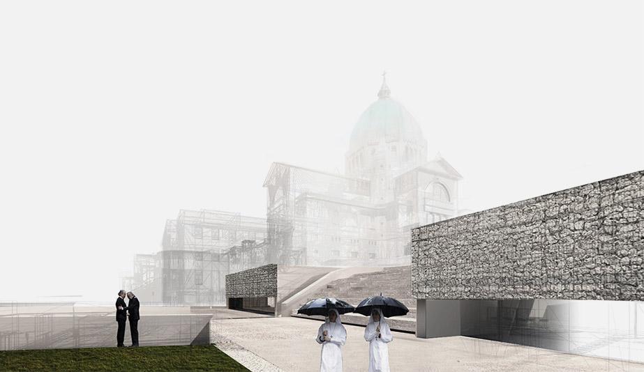 Saint Joseph Oratory is an 2018 AZ Awards Winner for Unbuilt Buildings.