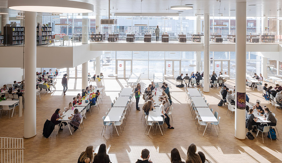 The Copenhagen International School is a 2018 AZ Awards Winner for Commercial/Institutional Architecture Over 1,000 square metres.