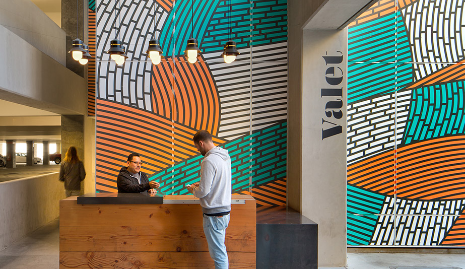 ROW DTLA is a 2018 AZ Awards Winner in the Experiential Graphic Design category.