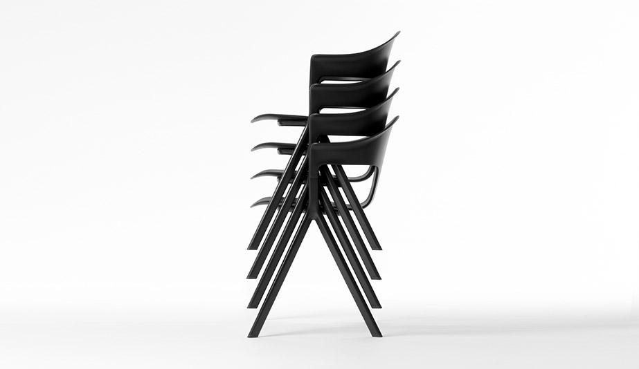The Axyl Chair is a 2018 AZ Awards Winner in the Furniture category.