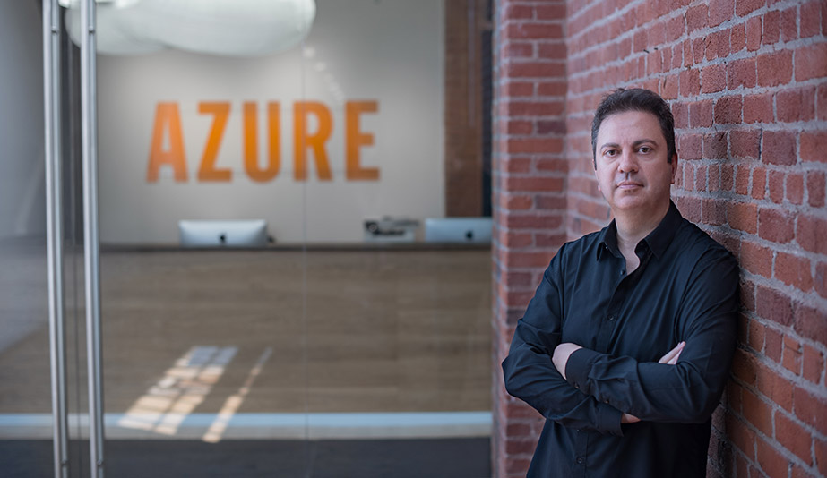 New Azure editors: Editor-in-chief Danny Sinopoli