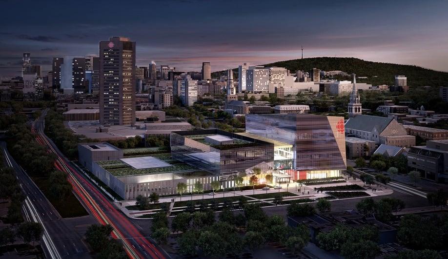 New Canadian buildings to watch: Maison de Radio-Canadain Montreal, byBéïque Legault Thuot Architectes,Dupras Ledoux ingénieurs and Quadrangle Architects