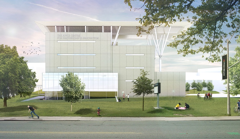 The Joyce Centre in Hamilton, by B+H Architects and McCallum Sather Architects
