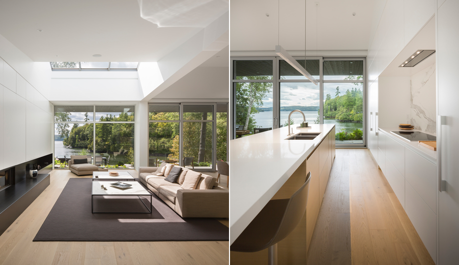 Contemporary Canadian Cottages: Slender House (MU Architecture)