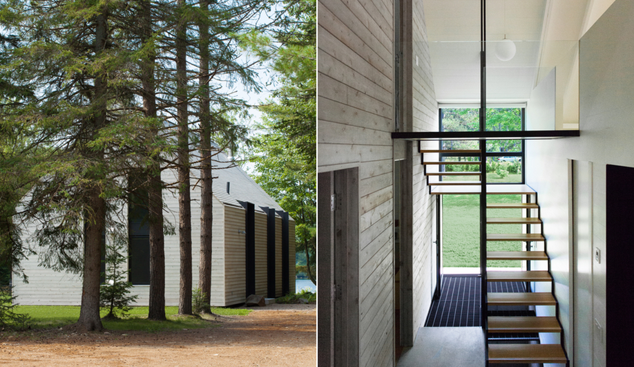 Contemporary Canadian Cottages: Window on the Lake (YH2 Architecture)