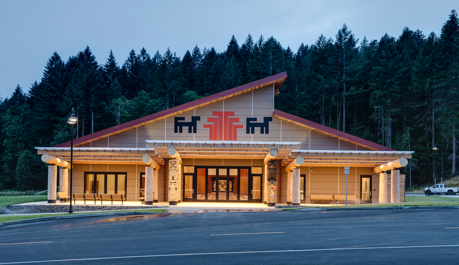 Just what is indigenous architecture? Here's the Skokomish Community Center by 7 Directions.