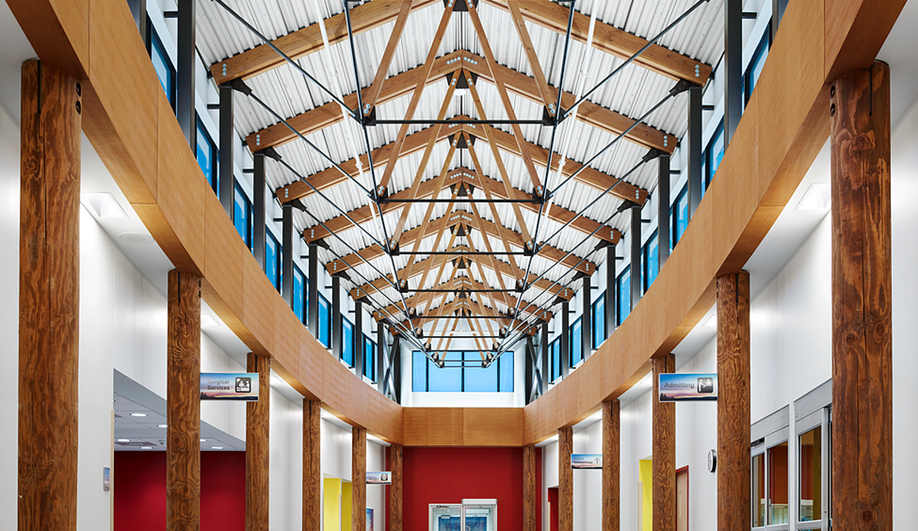 Just what is indigenous architecture? Here's Meno Ya Win Health Centre by Douglas Cardinal.