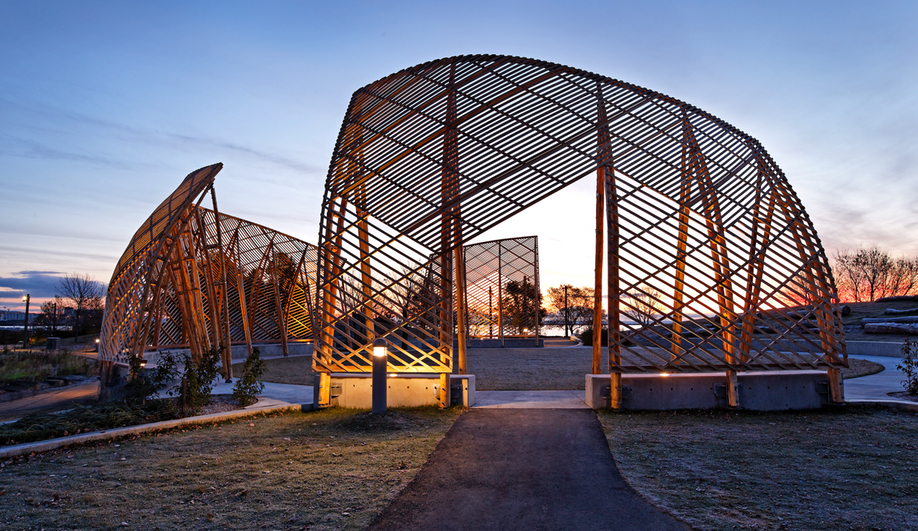 Just what is indigenous architecture? Here's the Gathering Circle by Ryan Gorrie and Toronto firm Brook McIlroy.